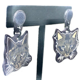 My Kitties (Handmade Dangle Earrings)