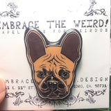 Frenchie (Handmade Lapel pin)