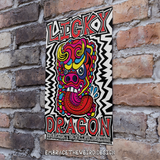 Licky Dragon (Open Edition Poster Print)