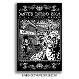 DANTES INFERNO ROOM (Open Edition Poster Print)