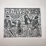 THE RAMONES - An Original Limited Edition Linocut (Series of 15)
