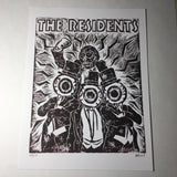 THE RESIDENTS - An Original Limited Edition Linocut (Series of 15)