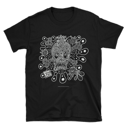 SKULL AND BONES SPLAT Short-Sleeve Unisex T-Shirt