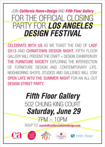 Chinatown Design Night 2013