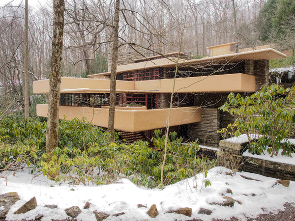 Falling Water, Frank Lloyd Wright