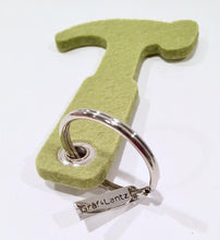 Felt Hammer Key Chain