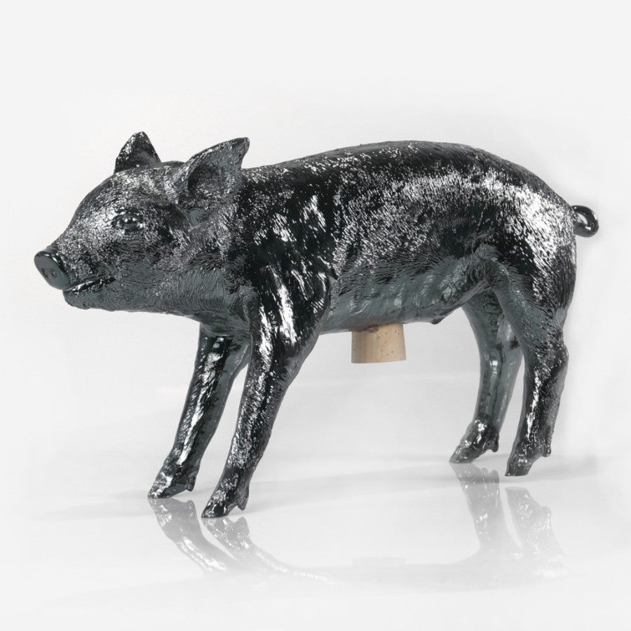 Bank in Form of Pig - Gunmetal
