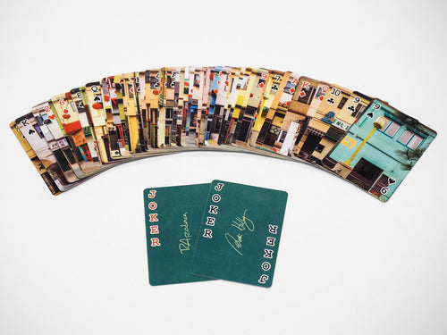 Chung King Road playing cards