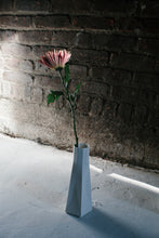 Faceted Bone China Vase - tall