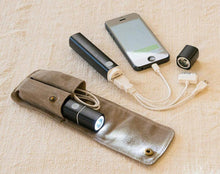 Smartphone Recharger with Flashlight