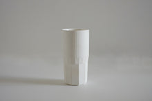 Faceted Bone China Cups