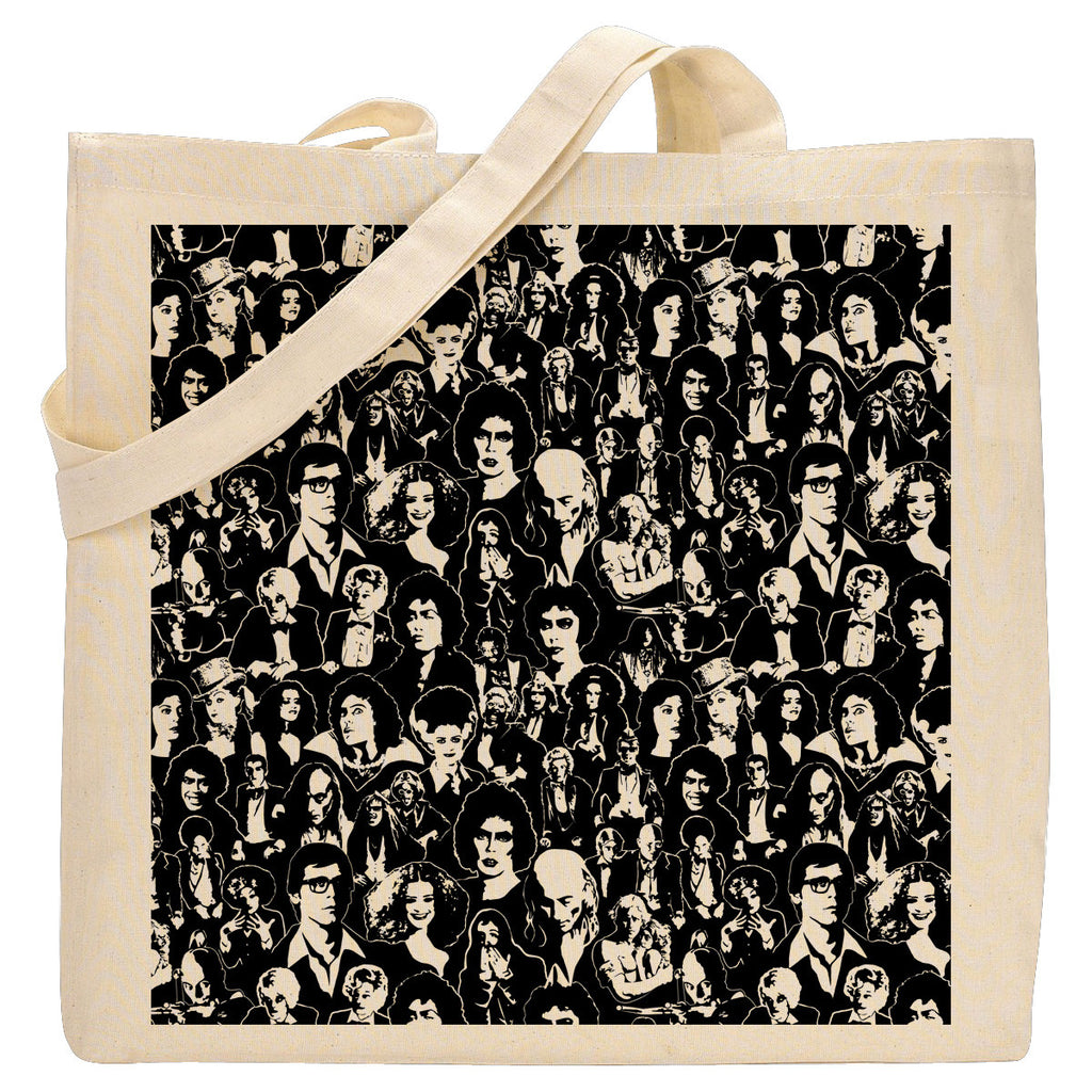Character Pattern Tote Bag