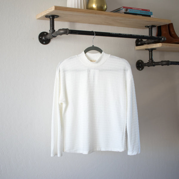 Andy Long Sleeve in White