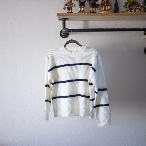 Spencer Striped Sweater