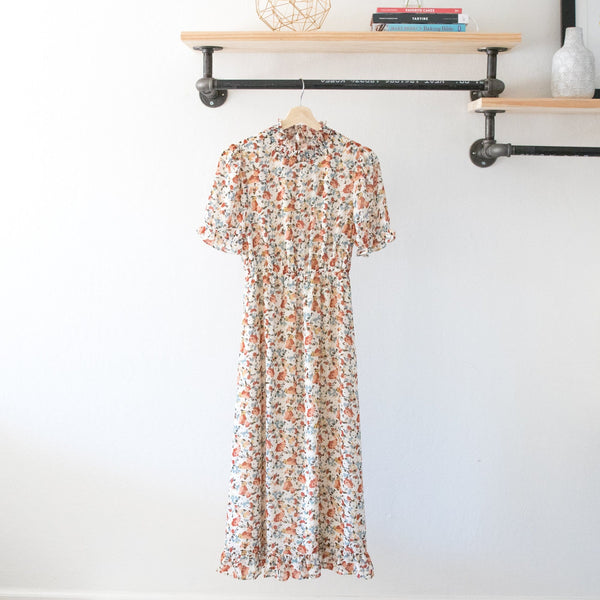 Nora Floral Dress