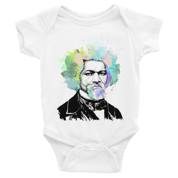 Frederick Douglass // Infant short sleeve one-piece