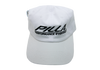 White Flex-Fit Pilla Hat