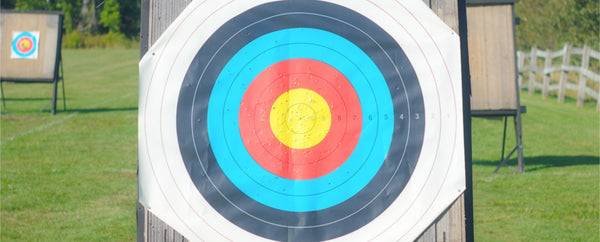 archery.environment.outdoor target.before