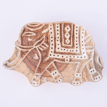 Elephant Indian Wooden Printing Block
