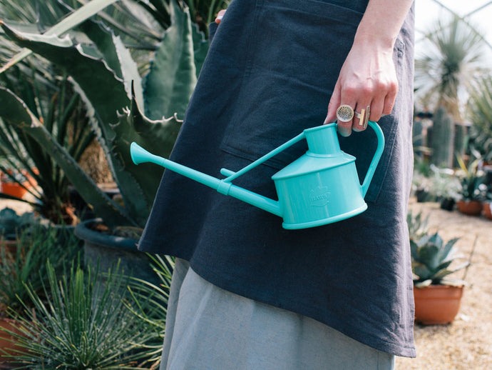 Turquoise Mini Watering Can