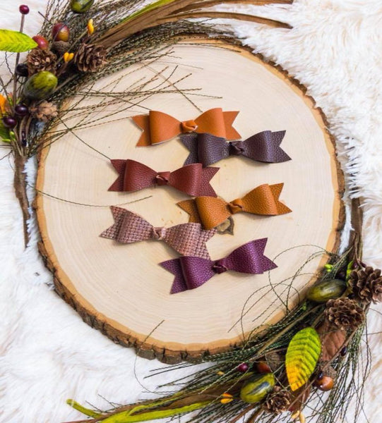 Winter Woodland Bows