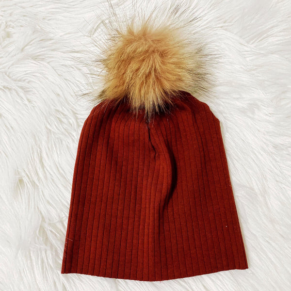 red-brick-adorable-hat-for-kids-and-babies-pom-beanie