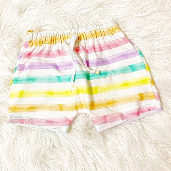 Rainbow Summer Shorts | unisex