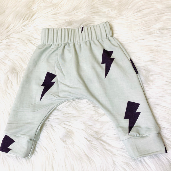 monochrome lightning bolt shorts for kids pure threads co
