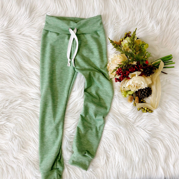 Sage French Terry Joggers