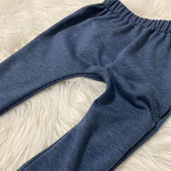 Kids Harem Pants - Heather Navy