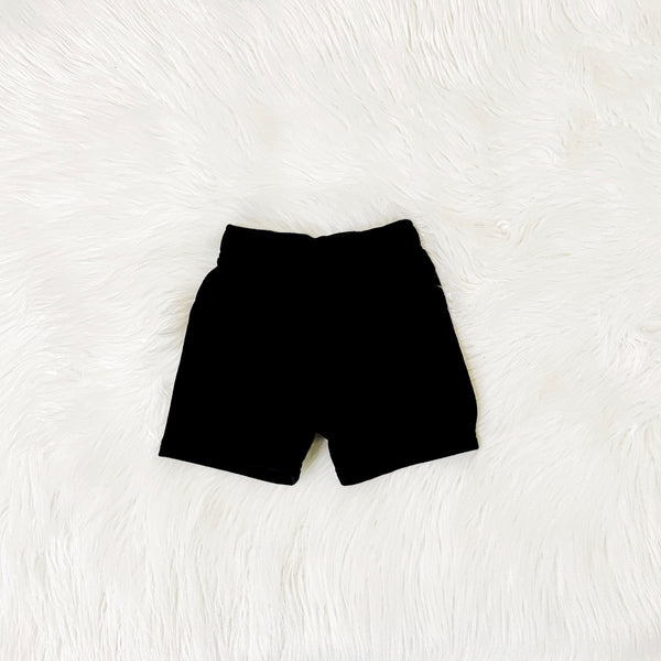 Black Summer Shorts | Unisex