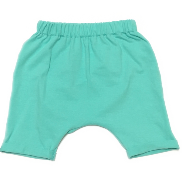 aqua-blue-harem-shorts-for-kids-handmade-by-pure-threads-co