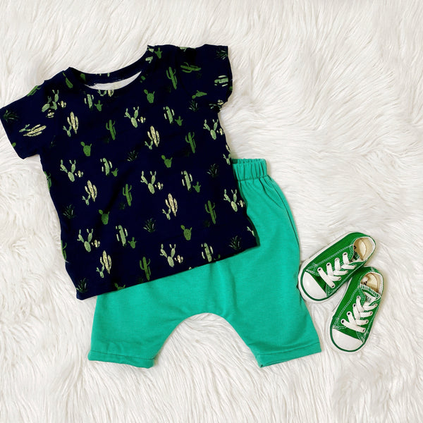 kid-s-cute-outfit-handmade-baby-style-toddler-fashion-cactus-mint-green-boy-outfit