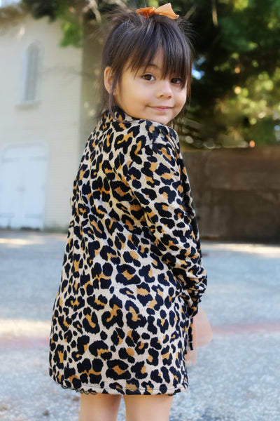 Sweater Leopard Cardigan