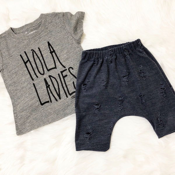 Distressed Denim Harems, Denim Harems, Toddler Boys