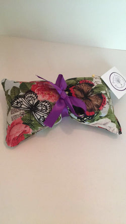 Multi-Butterfly Pattern Aroma Therapy Eye Pillow (New Patterns!)