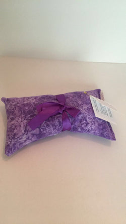 Purple Dragonfly Aroma Therapy Eye Pillow (New Patterns!)