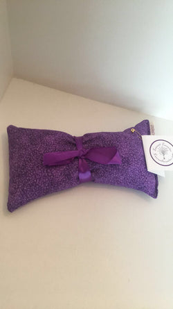 Purple Pattern Aroma Therapy Eye Pillow (New Patterns!)