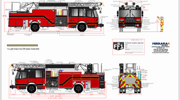 Orange Fire Department - HD 77 Ladder