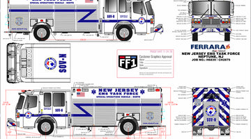NJ EMS TASK FORCE - FERRARA HEAVY DUTY RESCUE (2 OF 2)