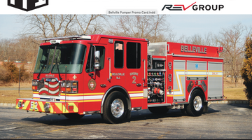 Belleville Fire Department - Custom Pumper