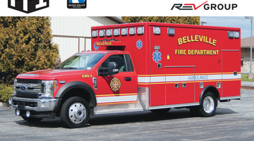 Belleville Fire Department - Type 1 Ambulance