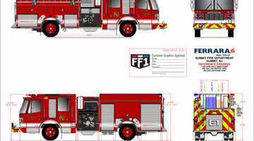 Summit Fire Department - Ferrara Custom Pumper
