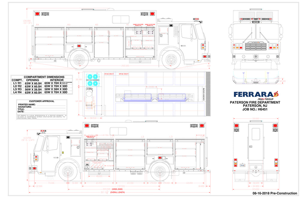 Paterson Ferrara Heavy Rescue Spec Drawing