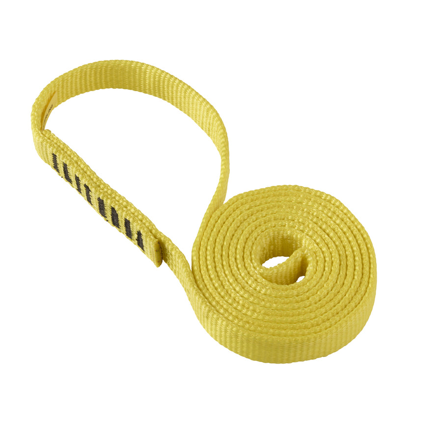 1 in. Flat Nylon Sling (Yellow)