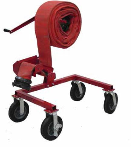 Large Diameter Hose Winder & Trailer Hitch Mount