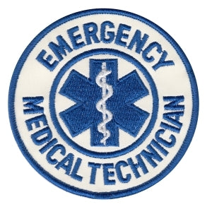 Emergency Medical Services Should Patch, Reflective
