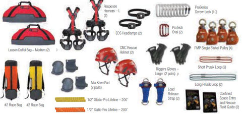 2-Person Confined Space Rescue Entrant Kit