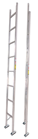 SERIES 585-A ALUMINUM FOLDING LADDER
