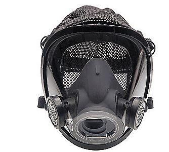 AV-3000 Facepiece with SureSeal & Rubber Head Harness